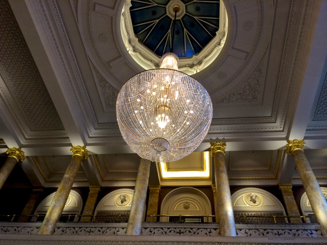 Grosvenor Hotel Chandelier