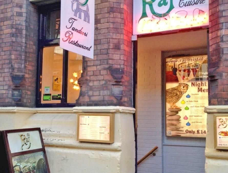 Raj Indian Restaurant, Bristol – Restaurant Review