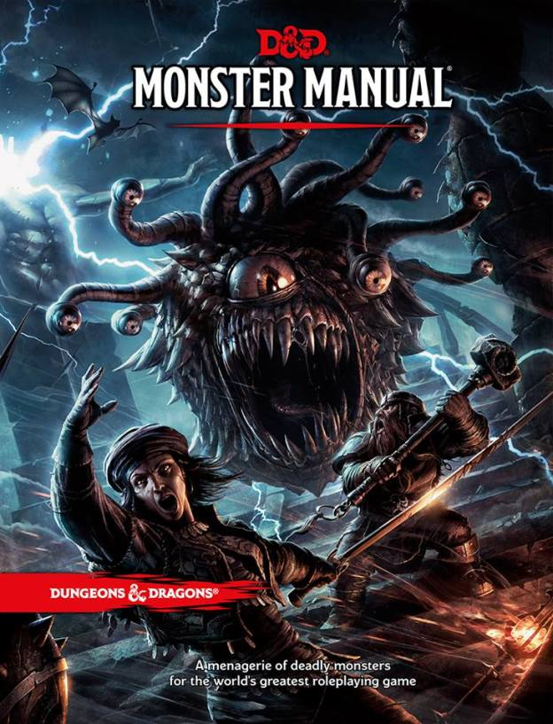 dungeons and dragons 5th edition monster manual 2