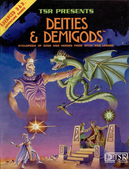 AD&D Deities & Demigods 1st Edition