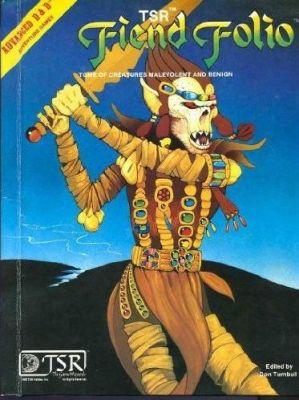 AD&D Fiend Folio 1st Edition