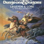 AD&D Legends & Lore 1st Edition