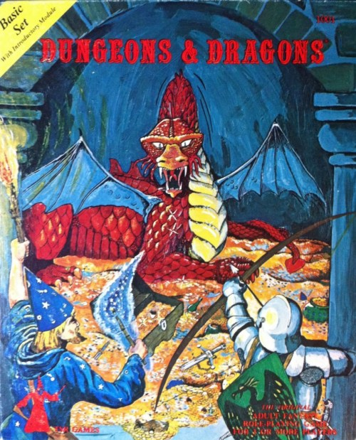 D&D Basic Set 1st Edition Original Box (Holmes Edition)