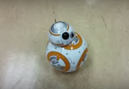 BB-8 Star Wars astromech toy