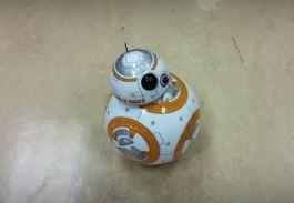 BB-8 Star Wars astromech toy