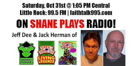 Shane Plays Guest Promo Banner Jeff Dee Jack Herman Monkey House Games