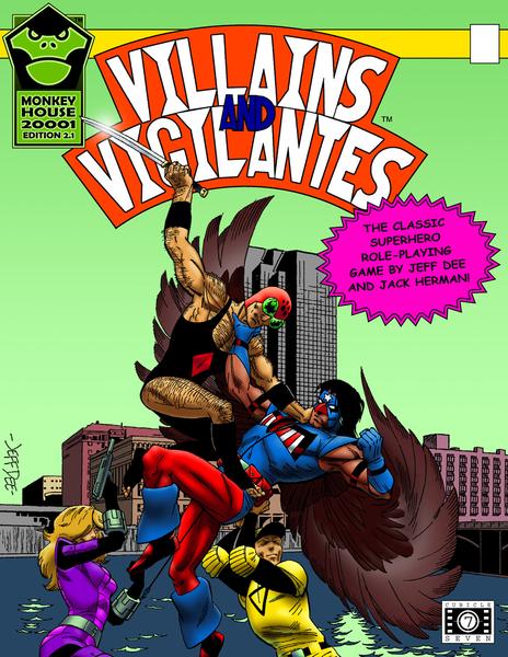 Villains & Vigilantes 2.1 Cover