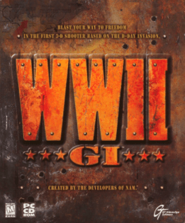 Word War II GI box cover