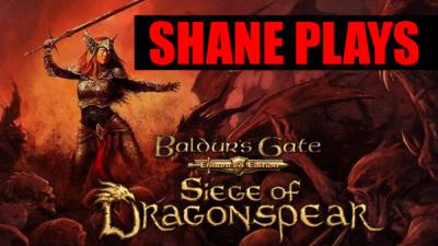 Baldur's Gate Siege of Dragonspear title