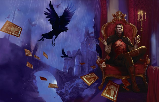 d&d curse of strahd wraparound cover artwork