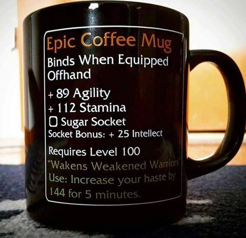d&d meme epic mug of RPGness