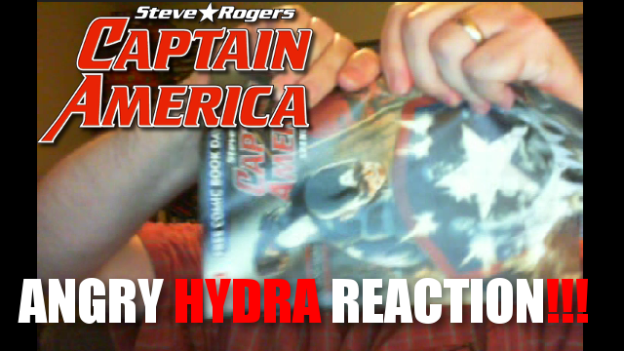 Captain America Angry Hydra Reaction