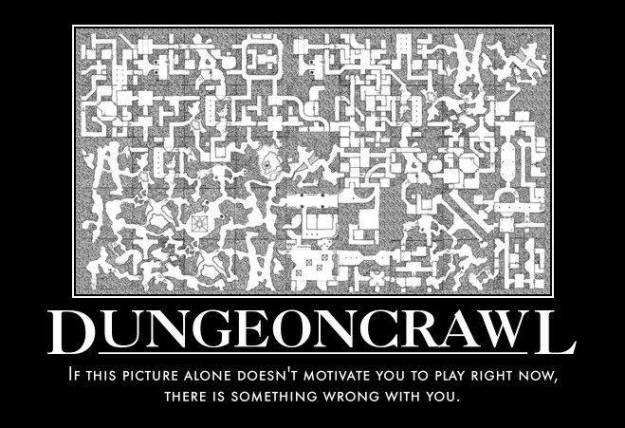 d&d meme dungeon crawl