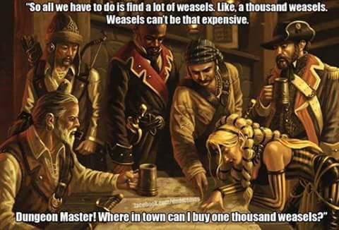 d&d meme weasels