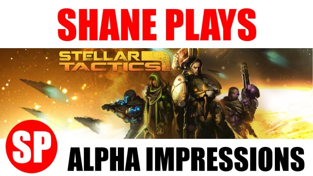 Stellar Tactics alpha impressions title