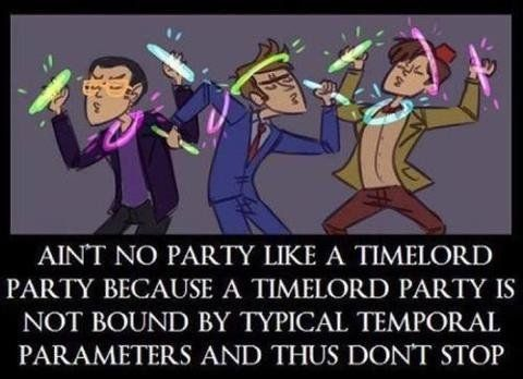 geek meme time lord party