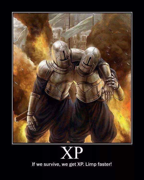 d&d meme if we survive we get xp