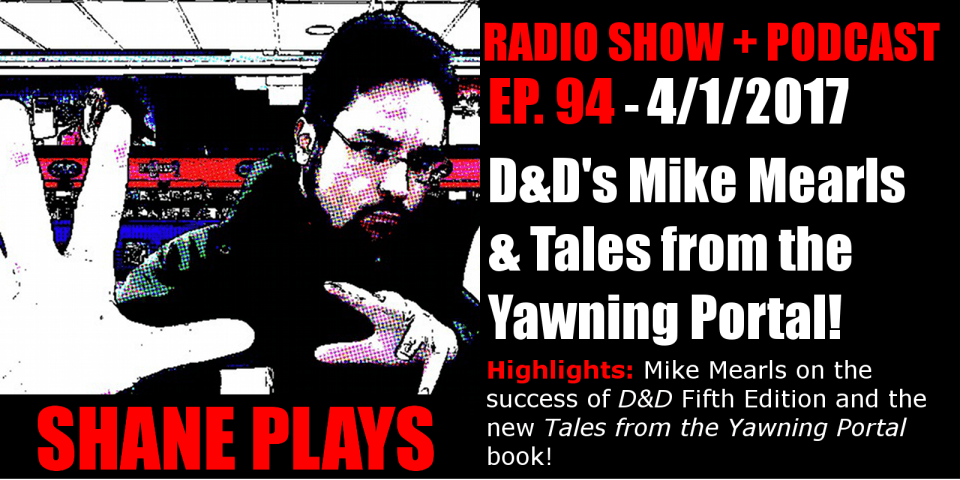 shane plays podcast title 4-1-2017