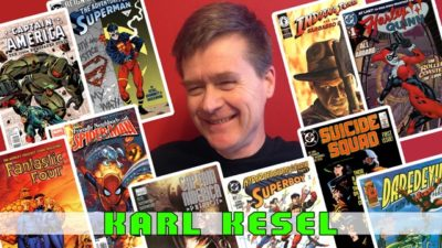 karl kesel with comic covers