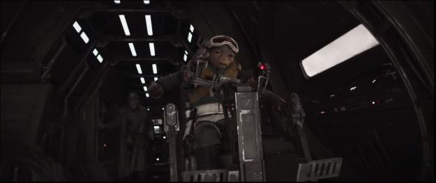 star wars solo trailer gunnery position