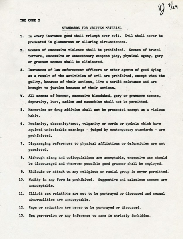 TSR Code of Ethics from 1982 (Jon Peterson provided)