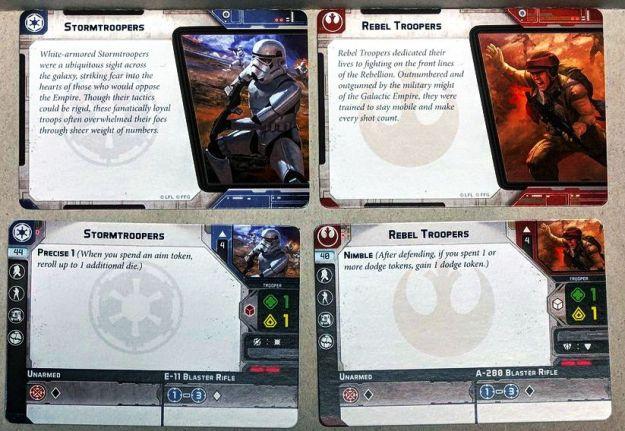 star wars legion unit cards