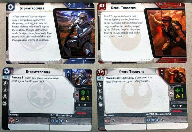 star wars legion unit cards