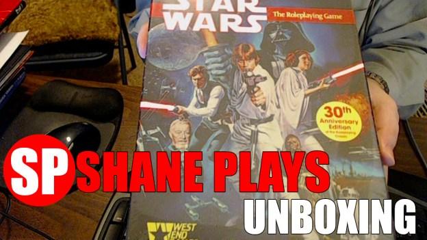 star wars RPG 30th anniversary unboxing thumb