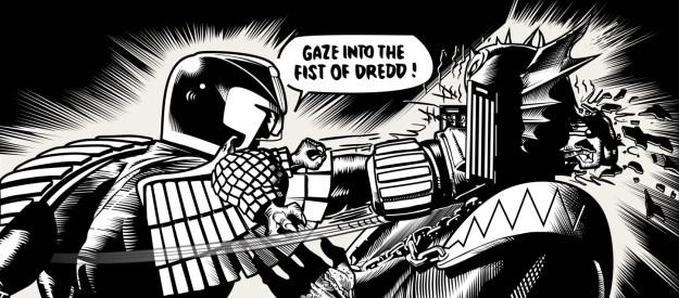 Gaze into the fist of dredd