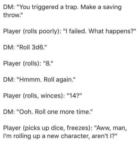 d&d meme im rolling up a new character arent i