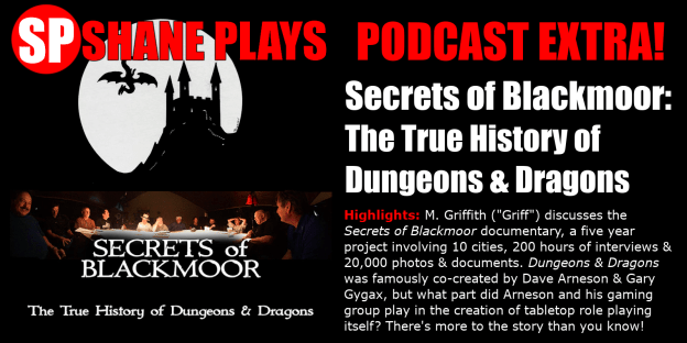 Secrets of Blackmoor the True History of Dungeons & Dragons with Griff 12-19-2018 title image