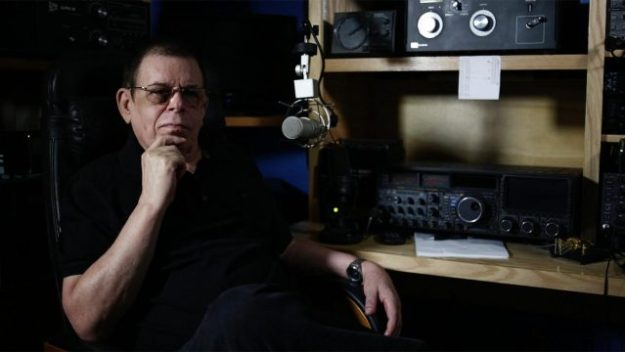 art bell looking thoughtful