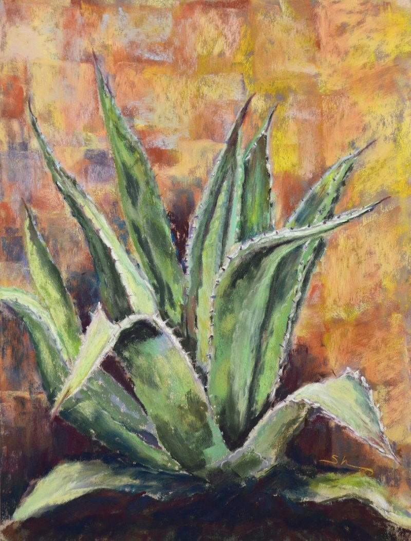Cactus Painting