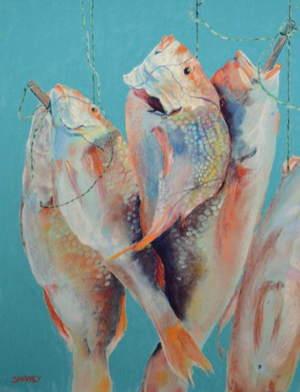 Fish artwork