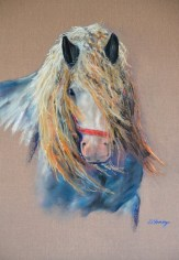 Horse fine art painting