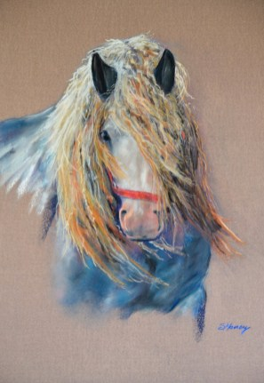 Horse fine art painting