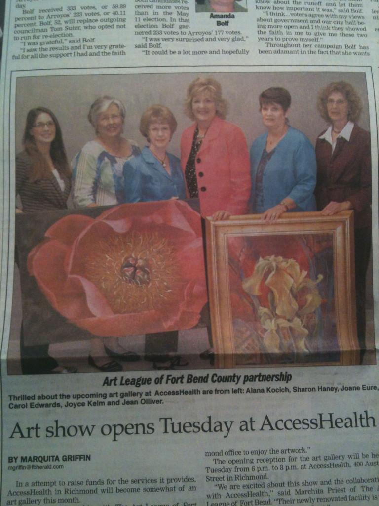 Texas Art News