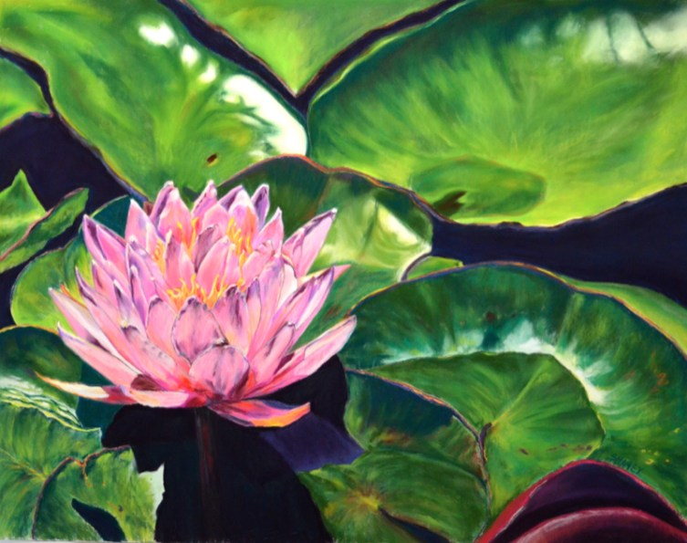 Lilly painting