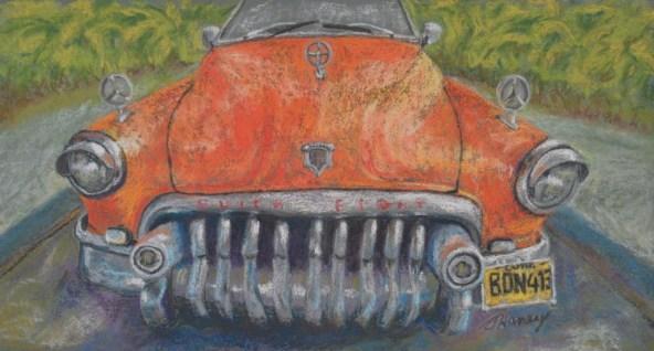 Cuban car painting