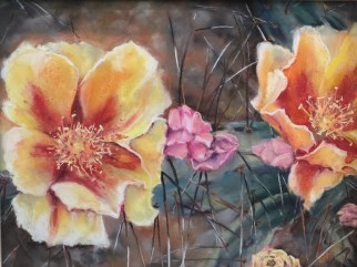 Desert Blooms 19x16