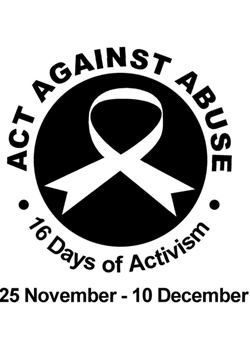 My role in 16 days of Activism Campaign