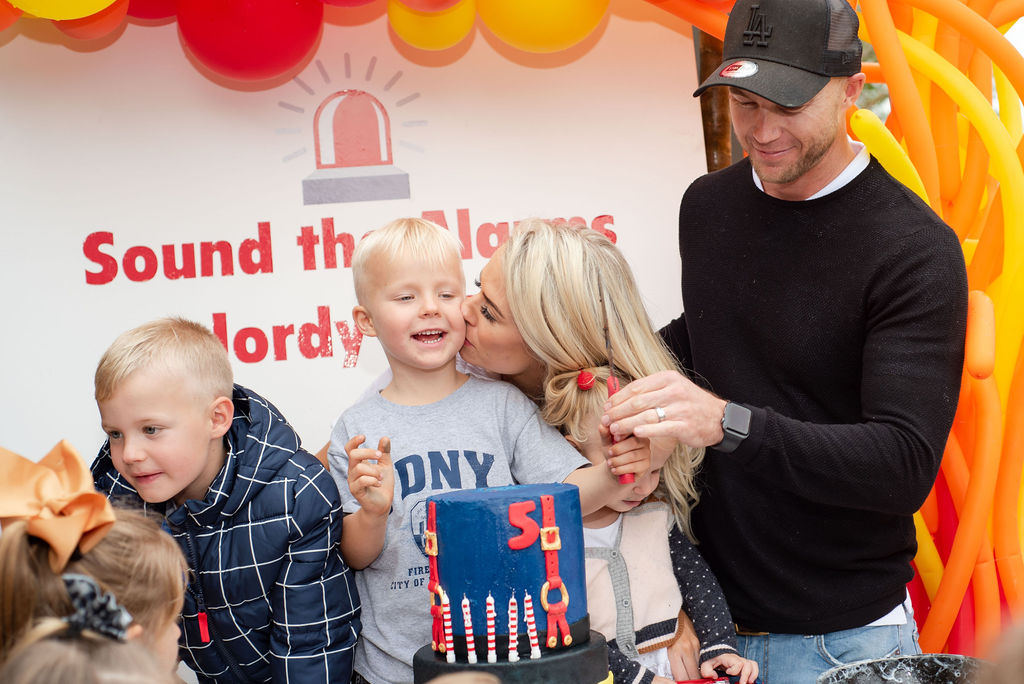 Fireman Birthday Party | Jordy turns FIVE