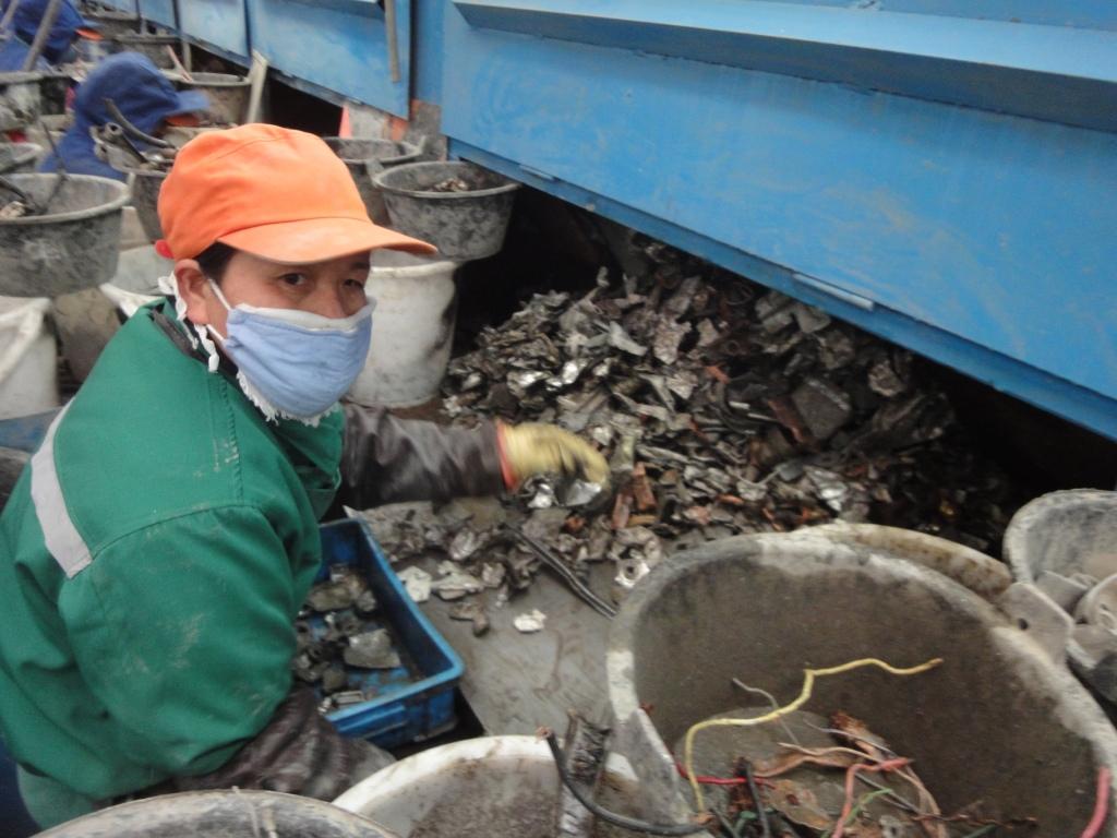 Triedička kovov v Číne