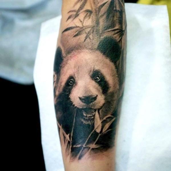Zhuo-Dan-Ting-Tattoo-Work-panda-tattoo的、卓丹婷纹身熊猫