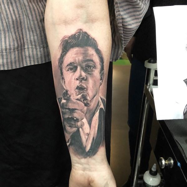 Zhuo-Dan-Ting-Tattoo-work-卓丹婷纹身作品-人物肖像纹身,