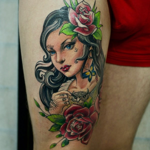 Zhuo-Dan-Ting-Tattoo-work-卓丹婷纹身作品-,