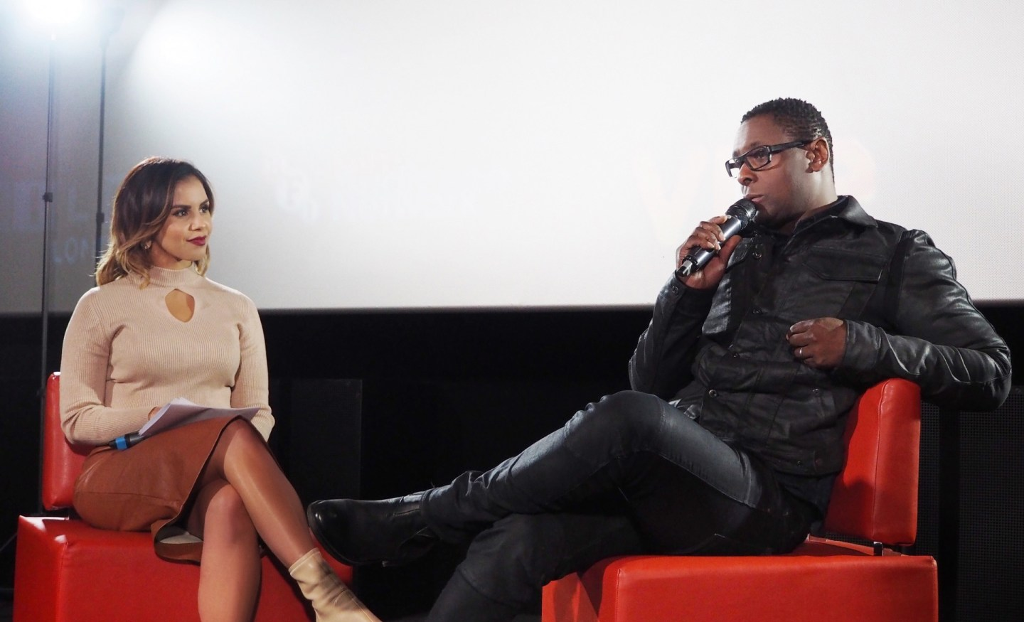 Shanie Interviews Hollywood Actor David Harewood for 'Your Cinema'