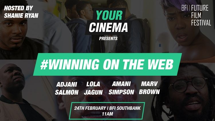 Shanie Hosts #WinningOnTheWeb for The BFI Film Festival & 'Your Cinema'..