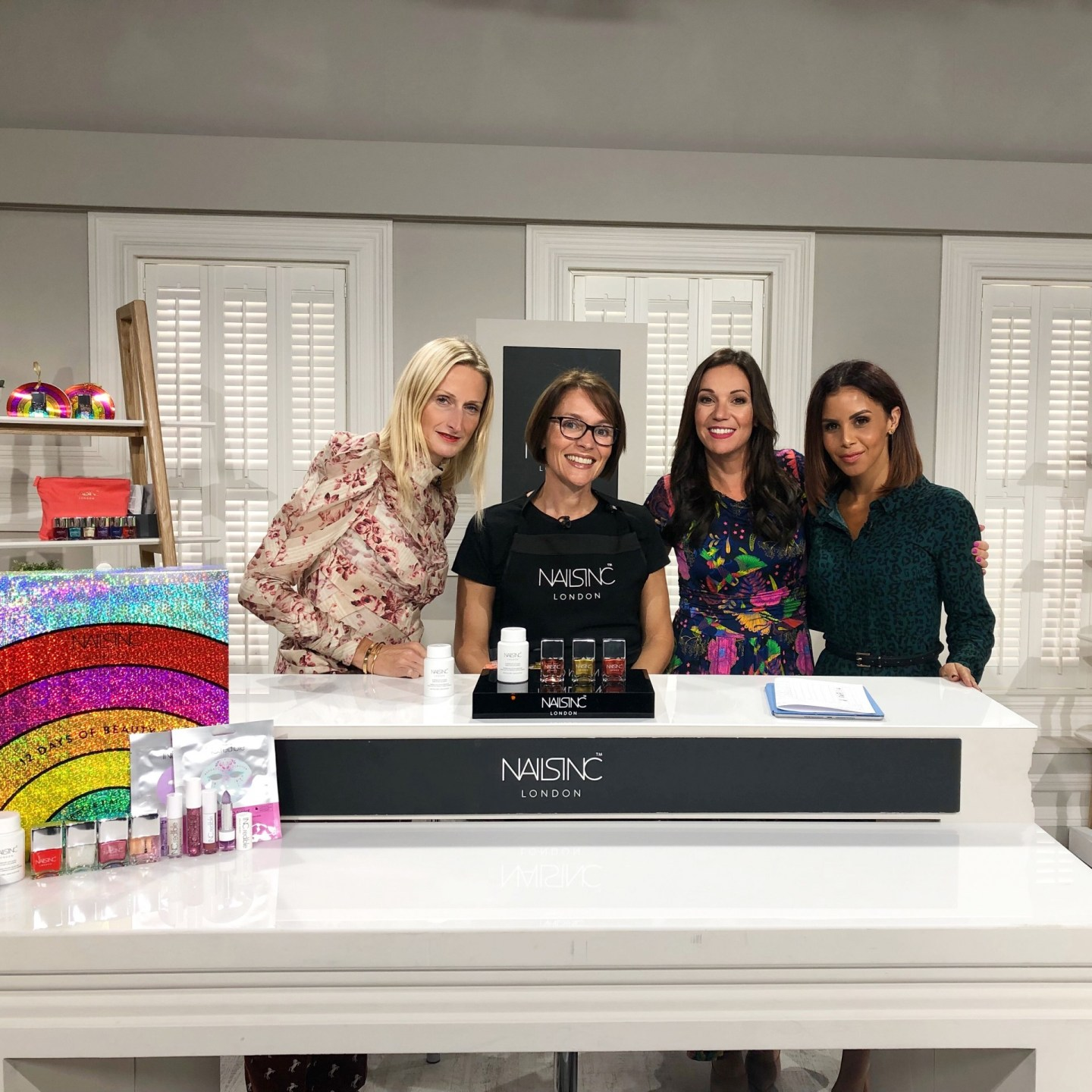 Catch Shanie on QVC as a Brand Ambassador for Nails Inc…