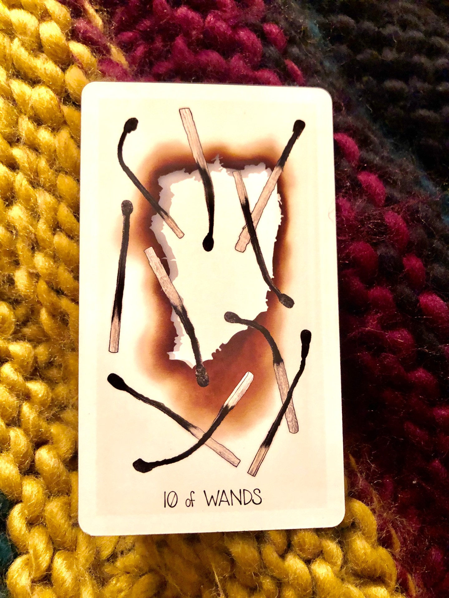 Tarot Card of the Week: 10 of Wands
